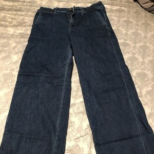 A New Day Wide Leg Trouser Jeans size 14 NWOT